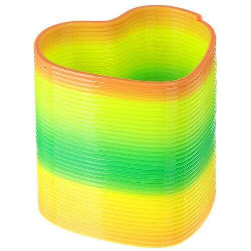 Пружинка радуга «Давай играть», форма сердце, d = 5 см
