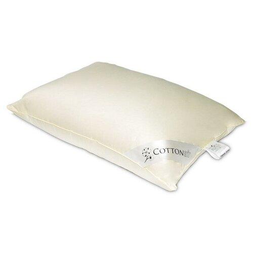 Подушка из хлопка и искусственного лебяжьего пуха Бел-Поль COTTON AIR 70х70 средняя