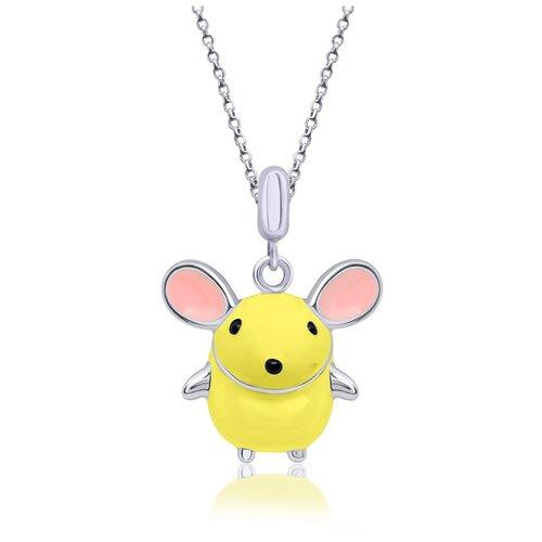 UMa & UMi Детский серебряный кулон подвеска Мышка UMI Pets 319542900605