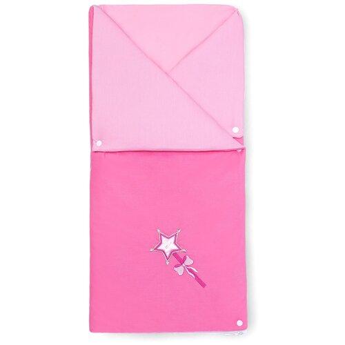 Купить Конверт-одеяло Kidboo Little Princess 90 см розовый, Конверты и спальные мешки