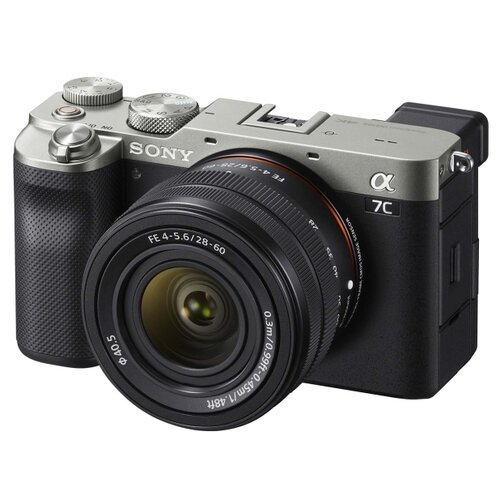 Фото - Фотоаппарат Sony Alpha ILCE-7CL Kit серебристый FE 28-60mm f/4-5.6 цифровой фотоаппарат sony alpha ilce 7m2 body черный