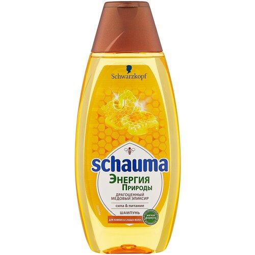 Купить Schauma шампунь Энергия природы Драгоценный медовый эликсир, 400 мл