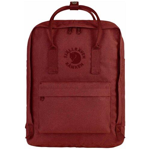 Городской рюкзак Fjallraven Re-Kånken 16, ox red городской рюкзак fjallraven re kånken 16 un blue