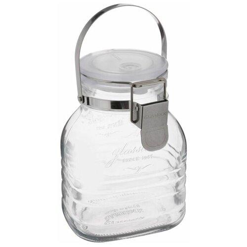 Фото - Glasslock Банка для хранения IP-634 1000 мл прозрачная банка для хранения солений ягод варенья 4 л 16х13 5х29 см ip 636 glasslock