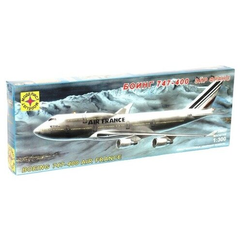 Модель для сборки Моделист Боинг 747-400