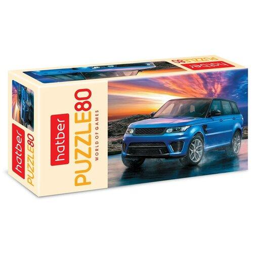 Пазл Hatber АвтоЛюкс 80 элементов А5 формат 165х230мм
