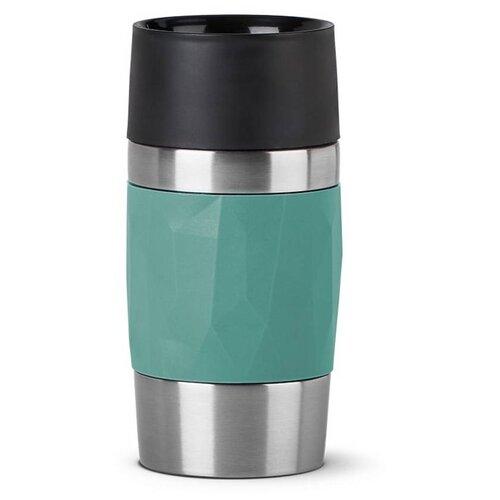 Фото - Термокружка EMSA Travel Mug Compact, 0.3 л зелeный термокружка emsa travel mug grande 0 5 л красный