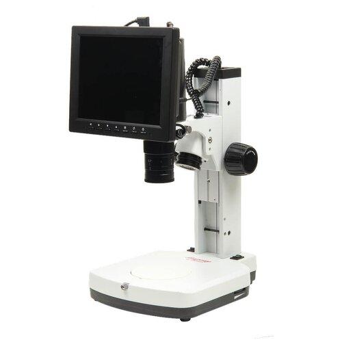 Фото - Микроскоп стерео МС-3-ZOOM LCD наглазники резиновые для микромед мс 3 4 пара