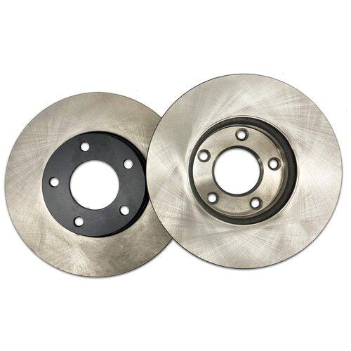 Комплект тормозных дисков задний NIBK RN1267 345x18 для Toyota Land Cruiser, Lexus LX (2 шт.)