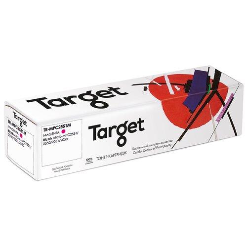 Фото - Тонер-картридж Target MPC2551M, пурпурный, для лазерного принтера, совместимый картридж target 106r02607m пурпурный для лазерного принтера совместимый