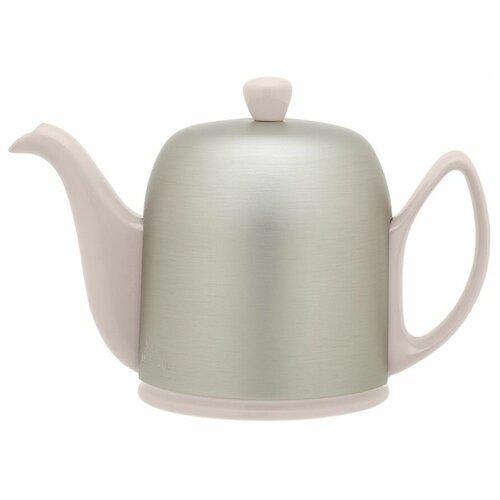 Фото - Чайник заварочный Salam Pink (0.7 л), с колпаком, на 4 чашки 236267 Guy Degrenne чайник заварочный salam white 0 37 л с колпаком с ситечком на 2 чашки 211987 guy degrenne
