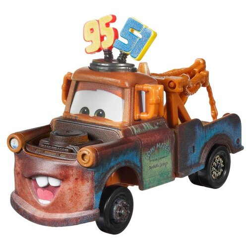 Машинка Mattel Cars Mater (DXV90/GRP94) 1:55, коричневый mattel машинка cars пол лошсил меняет цвет