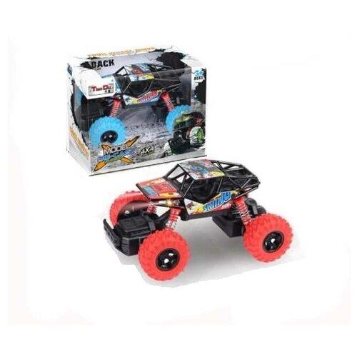 Купить Джип инерционный Junfa М 1:32, с элементами из металла, свет, звук, 16*10*11 см (T3201-1M), Junfa toys, Машинки и техника