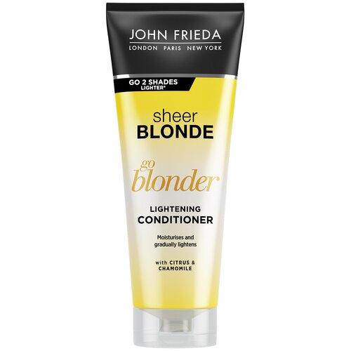 Купить John Frieda кондиционер для волос Sheer Blonde Go Blonder Lightening осветляющий, 250 мл