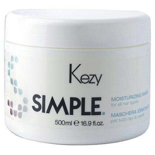 Купить KEZY Simple Увлажняющая маска для волос и кожи головы, 500 мл