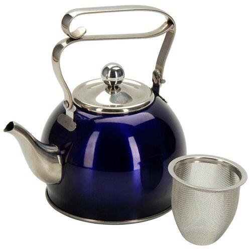 REGENT inox Заварочный чайник Promo 94-1509/94-1510 0,8 л, фиолетовый недорого