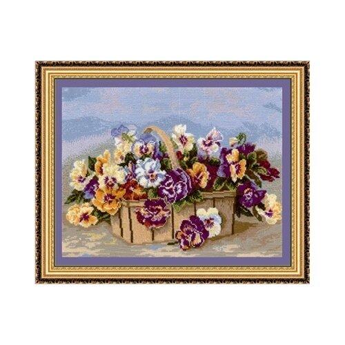 Купить Набор для вышивания Сделай своими руками Весеннее настроение , 39*28 см (16677578212), Наборы для вышивания