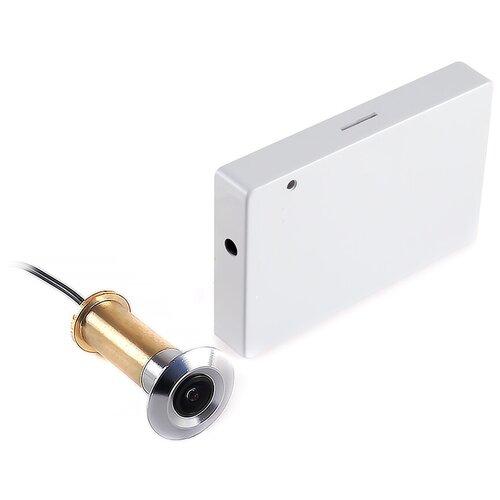 IHome-GLAZ - камера глазок, видеоглазок звонок с записью, видеоглазок на входную дверь, видеоглазок с датчиком