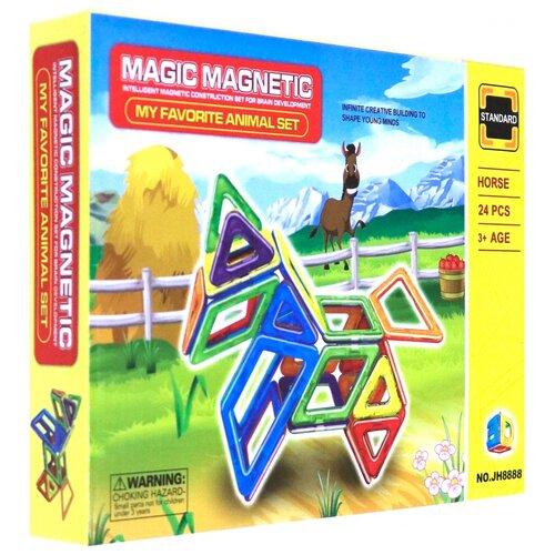 Конструктор Игруша Magic Magnetic JH8888 Лошадка магнитный конструктор игруша magic magnetic i jh6883