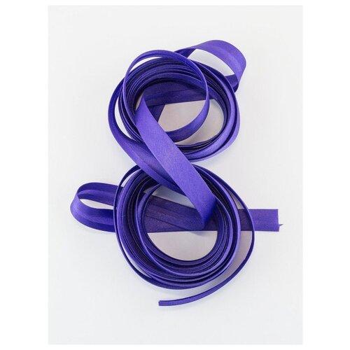 Купить Косая бейка, 14-15 мм, 10 м., GK-15P, Гамма, №115 фиолетовый, Gamma, Технические ленты и тесьма