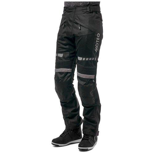 Штаны текстильные мужские AIRFLOW, Черный, XXXL