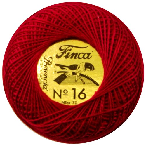 Купить Мулине Finca Perle(Жемчужное), №16, однотонный цвет 1667 71 метр 00008/16/1667, Мулине и нитки для вышивания