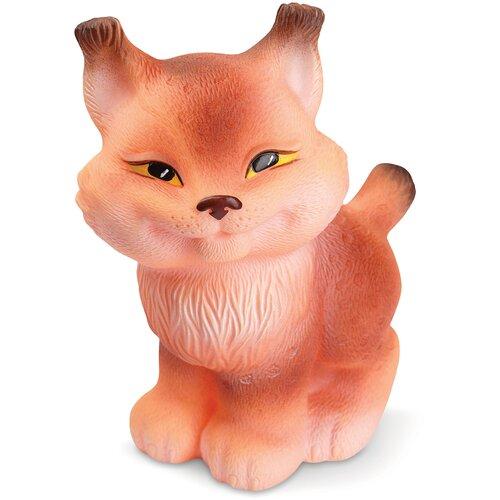 Фото - Игрушка для ванной ОГОНЁК Рыська (С-657) оранжевый игрушка для ванной огонёк лев бонифаций с 644 оранжевый