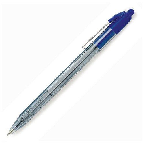 Купить Ручка шариковая автоматическая Attache Glide Trio 0, 7мм син, масл, треуг 6 штук, Ручки