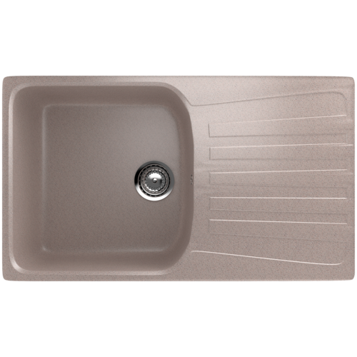 Фото - Врезная кухонная мойка 83 см EcoStone ES-20 302 песочный врезная кухонная мойка 103 см ecostone es 29 308 черный