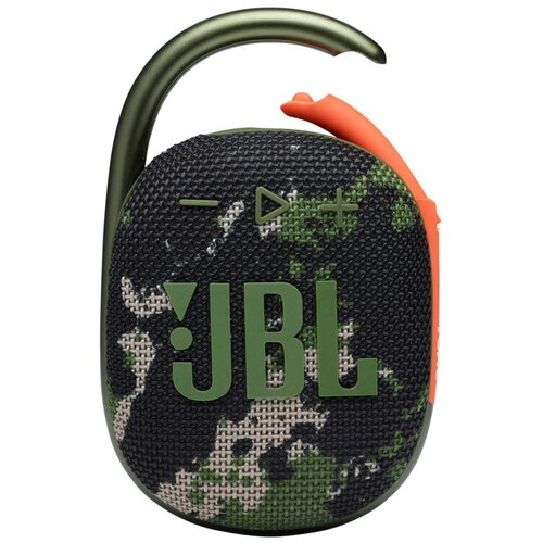 Портативная акустика JBL Clip 4, 5 Вт, камуфляж