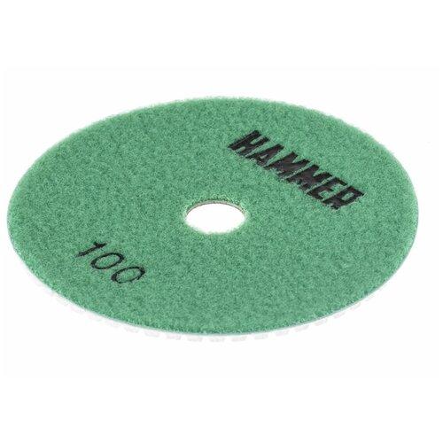 Фото - Шлифовальный круг на липучке Hammer 206-212 125 мм 1 шт шлифовальный круг на липучке hammer 214 016 150 мм 5 шт