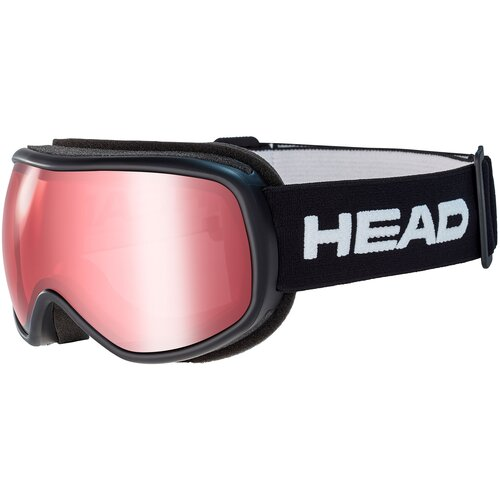 Маска HEAD Ninja black/red