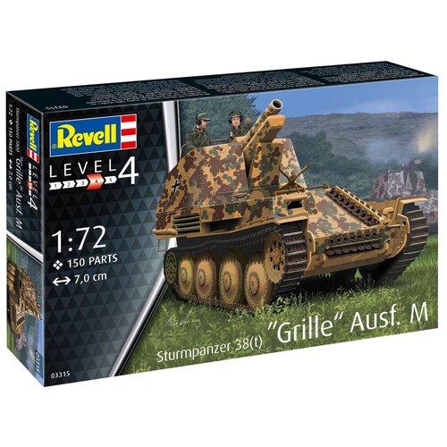 Сборная модель Немецкая самоходная артиллерийская установка 38(t) Grille Ausf. M
