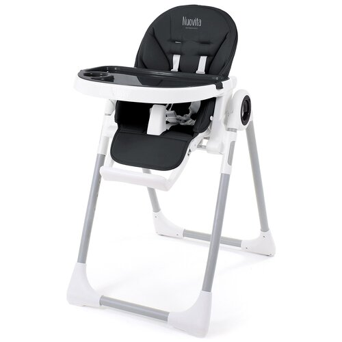 Фото - Стульчик для кормления Nuovita Grande, nero/черный стульчик для кормления nuovita tutela nero goffratura черный с тиснением