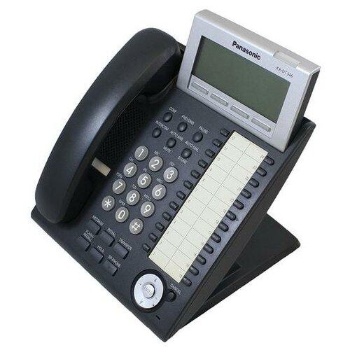 Panasonic KX-DT346RU Black цифровой системный телефон panasonic kx dt346ru white цифровой системный телефон
