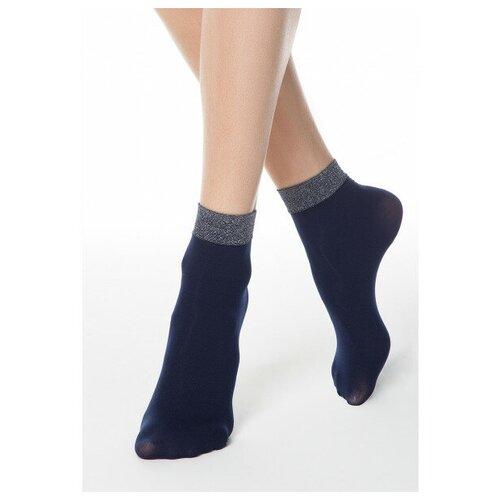 Капроновые носки Conte Elegant 16С-125СП, размер 23-25, marino