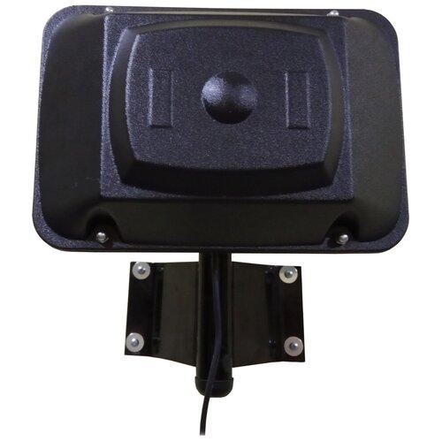 Фото - Наружная телевизионная антенна Триада-3450DVB-T2, направленная активная (с усилителем) цифровая, до 50 км, на кронштейн или мачту, панельная, с кабелем 10 метров, в коробке, для цифровой приставки антенна активная триада 53 turbo ам укв fm два режима