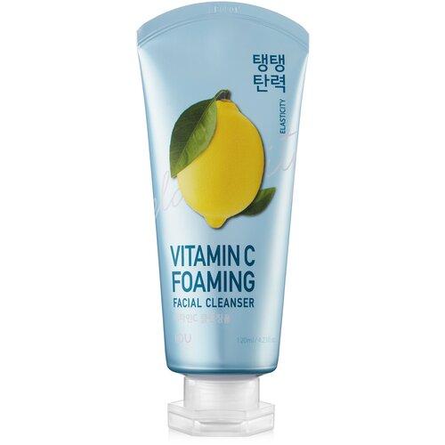 Фото - IOU пенка для умывания с витамином С тонизирующая Vitamin C Foaming Facial Cleanser, 120 мл clarins hydrating gentle foaming cleanser