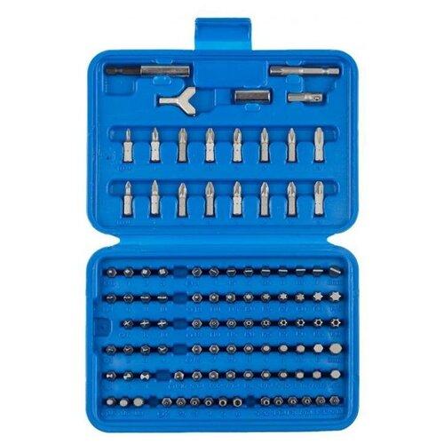 Набор бит ЗУБР 26095-H100, 100 предм., серебристый набор бит зубр 26013 3 50 2 2 предм серебристый