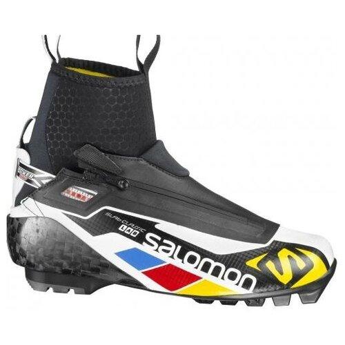 Лыжные ботинки Salomon S/Lab Classic Racer 354817 SNS Pilot (черный/белый/желтый) 2013-2014 36,5 RU кроссовки salomon salomon s lab sense 8