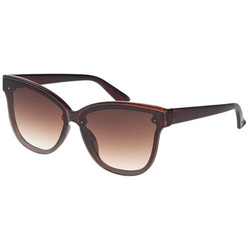 солнцезащитные очки Солнцезащитные очки женские/Очки солнцезащитные женские/Солнечные очки женские/Очки солнечные женские/21kdglan1005355c2vr коричневый/Vittorio Richi/Кошачий глаз/модные