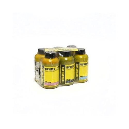 Фото - Чернила (краска) Ink-mate для принтеров Epson InkJet Photo:L800, L805, L1800, L850, L810 100x6 чернила краска для заправки принтера epson l3050 набор мини