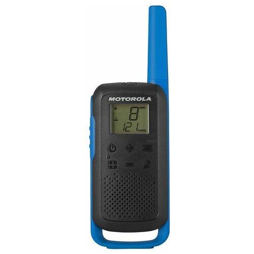 Рация Motorola Talkabout T62 синий/черный