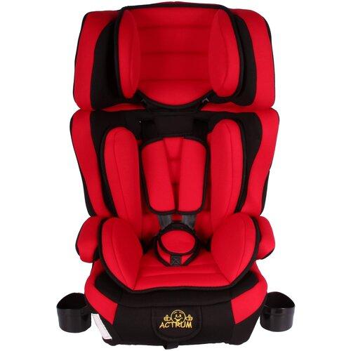 Детское автокресло ACTRUM BXS-218 (9-36кг) Красный