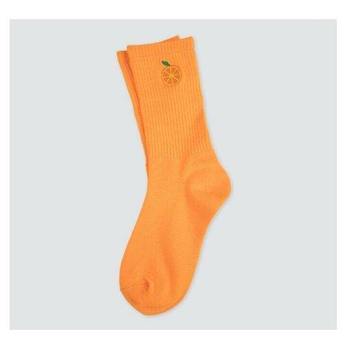 Носки женские Marmalato, цвет ОРАНЖЕВЫЙ-ЖЕЛТЫЙ-ЗЕЛЕНЫЙ, размер 35-38