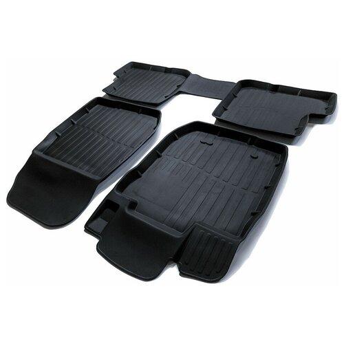 Фото - Комплект ковриков салона SRTK PR.RN.DUST.11G.02X35 для Renault Duster 4 шт. черный 2 комплект ковриков салона srtk pr w pas b7 11g 02023 5 шт черный