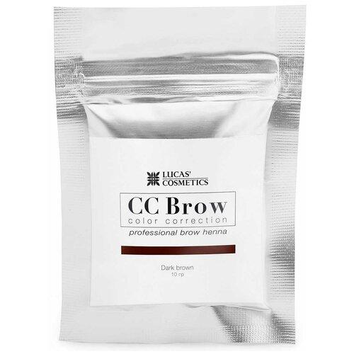 Фото - CC Brow Хна для бровей в саше 10 г dark brown cc brow хна для бровей в саше 10 г blonde