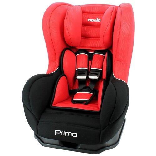 Автокресло группа 0/1/2 (до 25 кг) Nania Primo Luxe, red