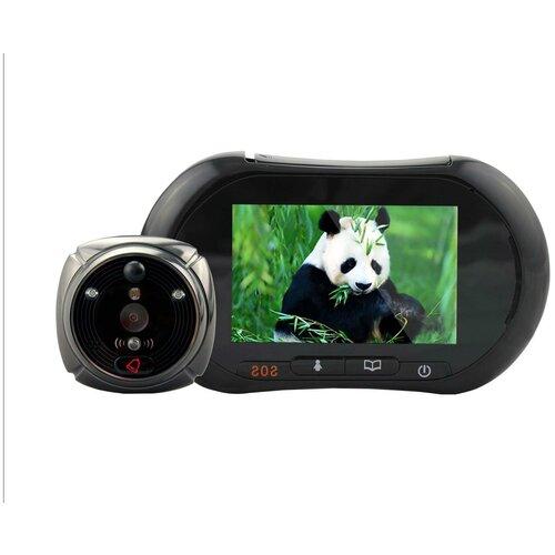 Видеоглазок iHome-2 (GSM) - дверной GSM видео глазок, видеоглазок продажа, видеоглазок с автоматической записью подарочная упаковка