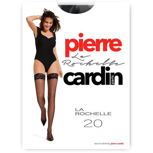 Чулки Pierre Cardin La Rochelle, Basic Line, 20 den, размер II-S, nero (черный)